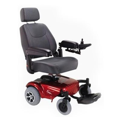 Red Power Wheelchair