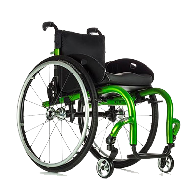 Candy Apple Green Wheelchair